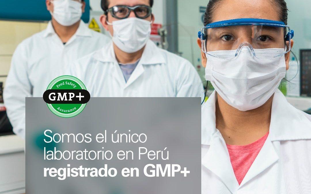 ¡SGS es la única empresa en Perú que cuenta con una lista de laboratorios registrados en GMP+!