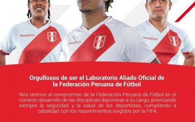¡Unilabs Perú anuncia alianza con la Federación Peruana de Fútbol!